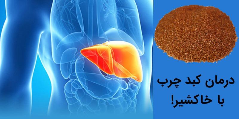 درمان کبد چرب با خاکشیر